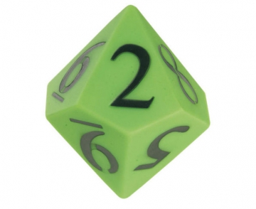 Number dice 0 - 9 - Decahedron