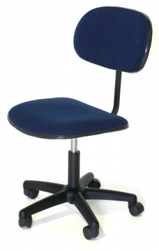 Office Chair Blue, height adjustable