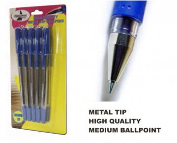 Set of 10 ballpens, blue