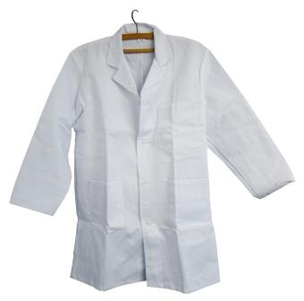 Laboratory White Coat (M)