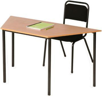 Senior Phase Trapezoidal Table, Melamine