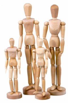 Set of 4 Manikins