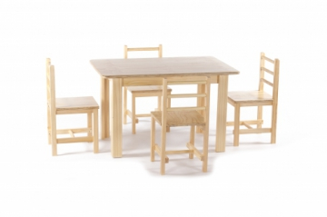 Pine 2 Chairs & 1 Table set