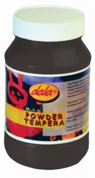 Powder Tempera Black 500g