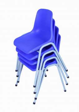 School Chair Grade 1-3 (35cm H), Blue Set of 30