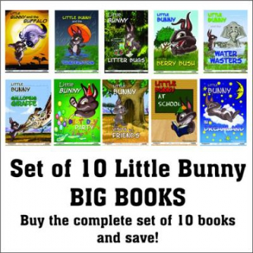 Complete Set Of Bunny Books Afrikaans