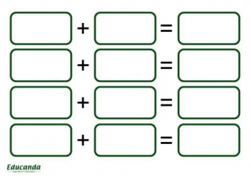 Teaching Maths Templates A5: Bonds (set of 50)