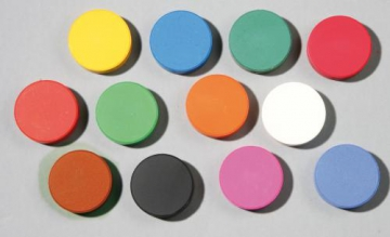 Tempera Colour Blocks  - 6 pc - 57 mm - brown
