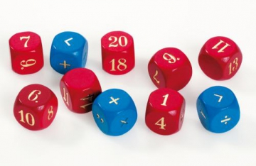 Counting dice set of 20