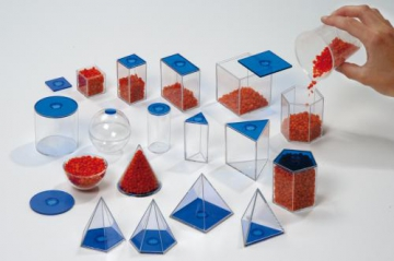 Geometric Solids  6 cm -  17  pc