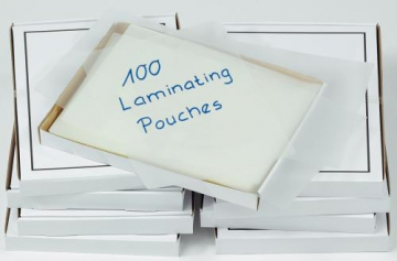 Laminating pouches A3 100 250 mic