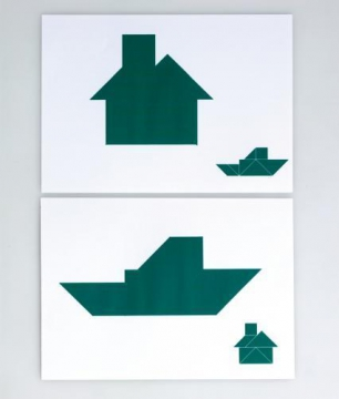 Tangram cards without box