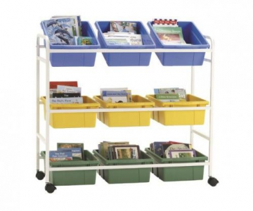 Reading book browser cart