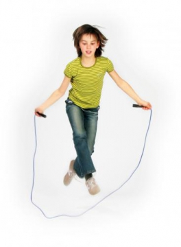 Skipping rope 2,43 m green