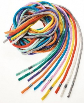 Set with 10 Jump Ropes in different colours