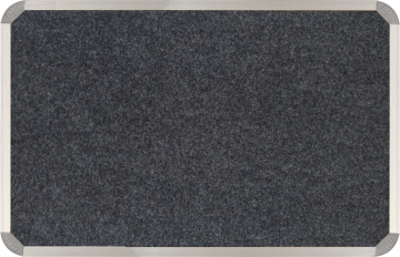 Bulletin Board150x120cm Laurel Grey (Grey-X)