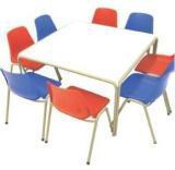 Grade R Table & 8 chairs - Assorted Colours