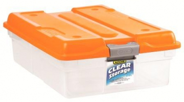 26L Clear Storage Box
