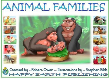 Animal Families Story Book