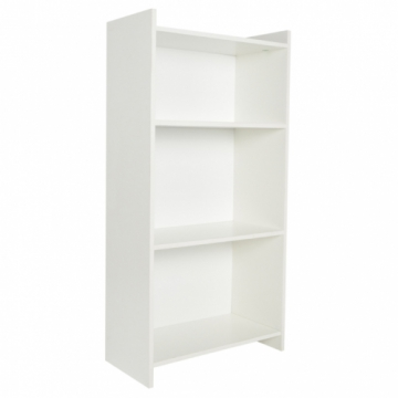 3 Tier Bookcase - White