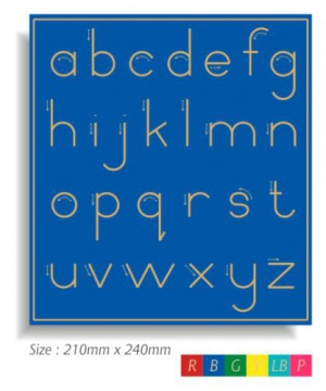 abc Lower Case - Standard Print