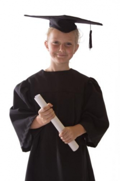 Foundation Phase Graduation Gown incl. Mortar