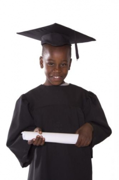 Foundation Phase Graduation Gown incl. Mortar - Set of 40