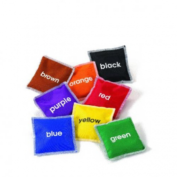 8 Colour Bean Bags