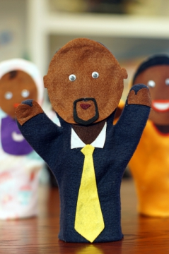 Hand Puppet: Father