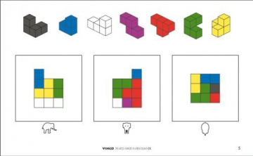 Workcards Soma Cubes - 1 - 38126 - Very Easy